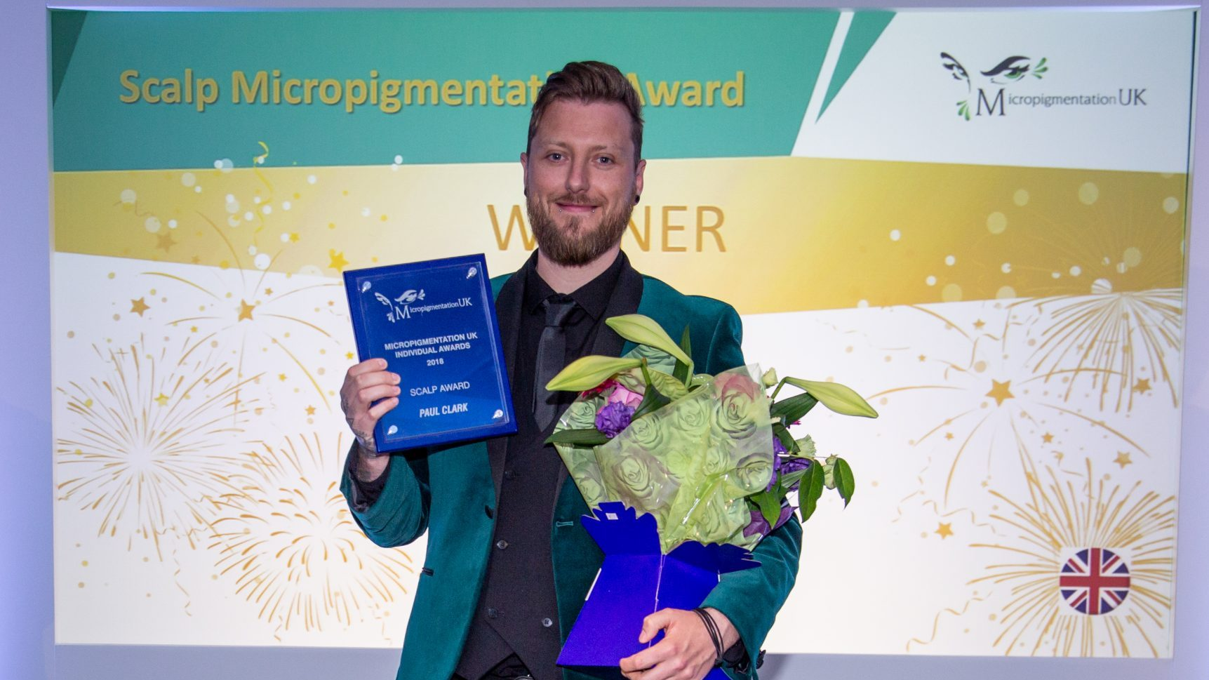 Micropigmentation UK Award winner Paul Clark