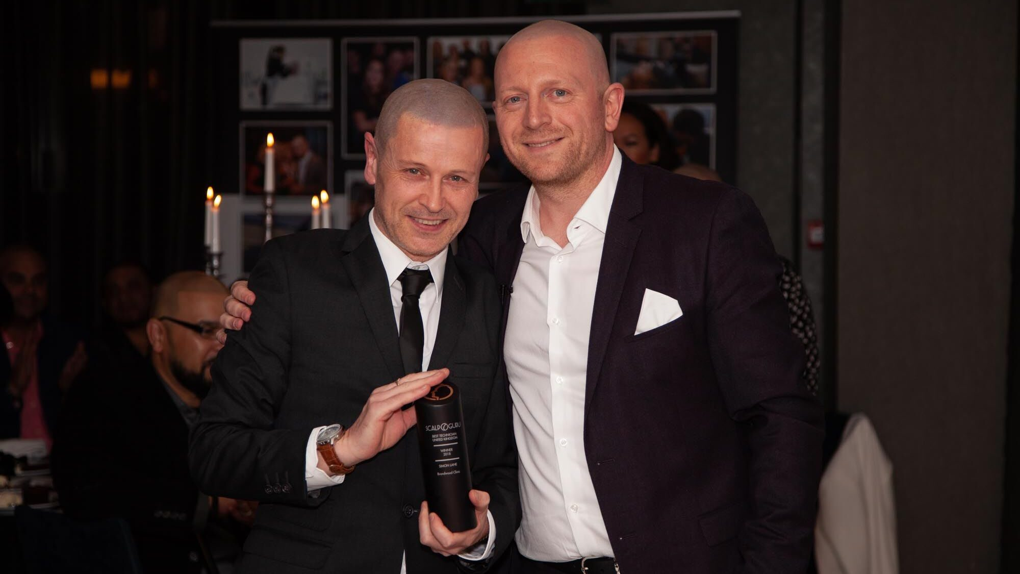 Scalp Guru Award winner Simon Lane