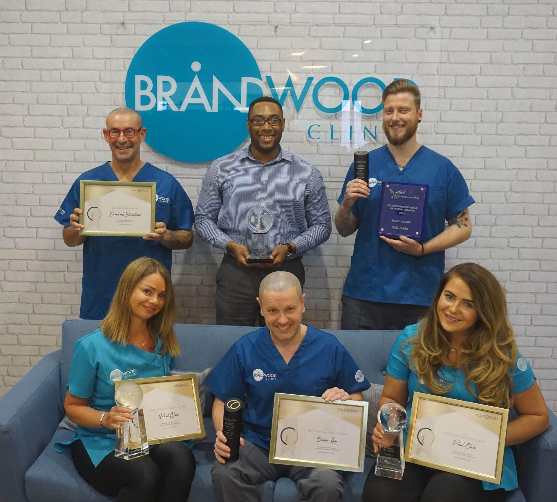 Brandwood Clinic awards